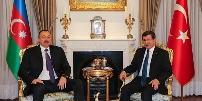 Azerbaycan Cumhurbaşkanı, Türkiye Başbakanı İle Görüştü…