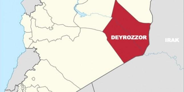 Suriye Ordusu Deyrezzor'da IŞİD Teröristlerini Ağır Kayıplara Uğrattı…