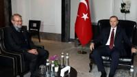 Laricani, Türkiye Cumhurbaşkanı İle Görüştü…