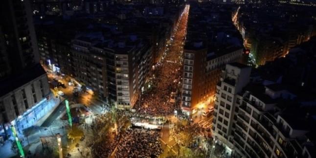 İspanya'da ETA Tutuklularına Destek Gösterisi Yapıldı…