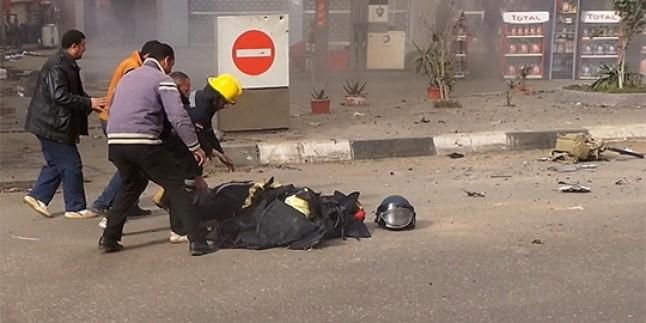 Mısır'da Bomba İmha Polisi Bombayı Etkisizleştirmeye Çalışırken Bombanın Patlaması Sonucu Hayatını Kaybetti…