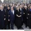 Abbas ve Netanyahu'nun Paris Yürüyüşüne Katılması Filistinlileri Kızdırdı