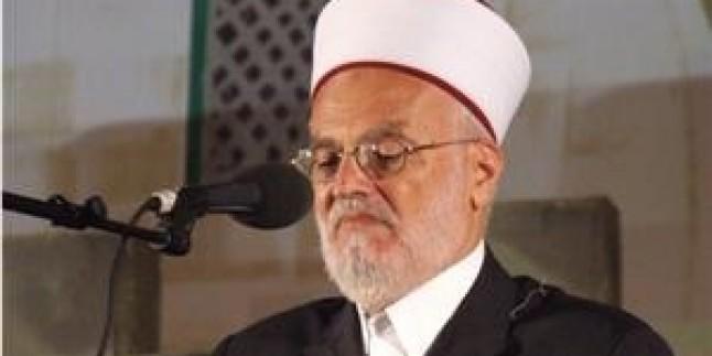 Şeyh İkrime Sabri: Gazze Ablukası Planlı Bir Cinayettir…