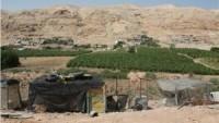 Siyonist İşgal Yönetimi Eriha'nın Kuzeyinde Bir Filistin Köyünün Boşaltılmasını İstedi…