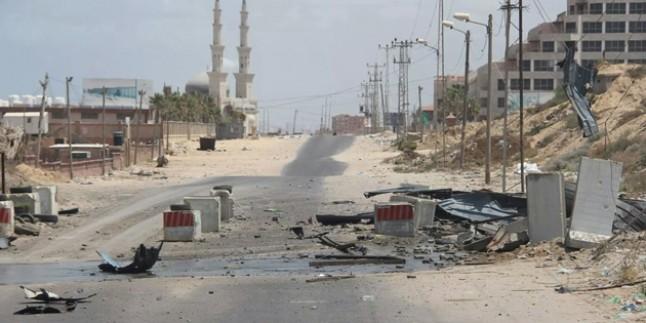 Korsan İsrail, Gazze'deki Beyt Hanun kapısını kapattı