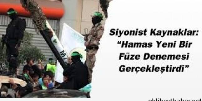 Hamas'ın füze denemeleri devam ediyor
