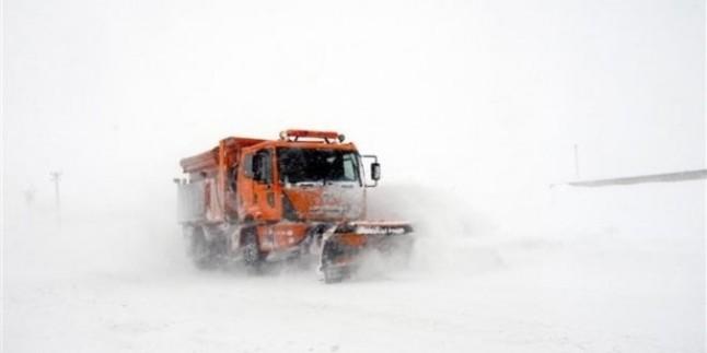 Doğu'da 1259 köy yolu kapalı…