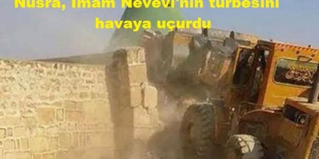 Nusra, İmam Nevevi'nin türbesini havaya uçurdu