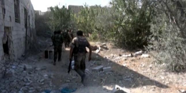 Suriye Ordusu Şam Kırsalının Doğusunda Haresta'da Bulunan Teröristlere Operasyon Düzenledi…