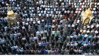Uluslar arası İslami Vahdet Konferansı kulisinde vahdet namazı