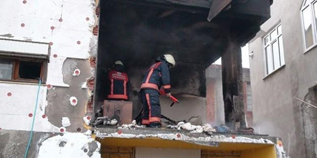 Tuzla'da doğalgaz patlaması