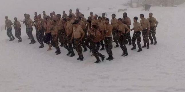Kahraman Suriye Askerlerinin Lazkiye'deki Yunus Peygamber Dağında Yaptıkları Eğitimden Görüntüler Yayınlandı…