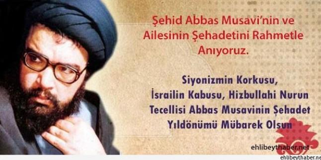 Tasarım: Şehid Abbas Musavi'nin ve Ailesinin Şehadetini Rahmetle Anıyoruz…