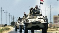 Mısır'ın Sina bölgesindeki en büyük silah deposu imha edildi