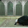 Foto: Ruhani Hz. Masume'nin (s.a) Türbesini Ziyaret Etti…
