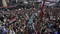 Yemen halkı Yemen Hizbullahı Liderinin Çağrısı Üzerine Arabistan aleyhinde gösteri düzenledi…