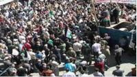 Gazze Şeridinde Korsan İsrail Aleyhine Gösteri Düzenlendi…
