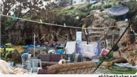 Siyonist İsrail Kudüslü Yaşlı Kadını Mağarada Yaşamaya Mecbur Etti