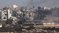 Gazze'de Savaştan Kalan Mühimmat Patladı…