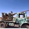 Suriye'de Üzerinde Ağır Makineli Tüfek Bulunan 17 Araç Ele Geçirildi…