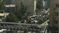 Şam'da Teröristler Sivilleri Hedef Aldı: 8 Şehid, 24 Yaralı…