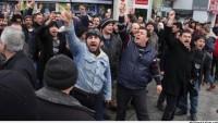 3 Aydır Maaş Alamayan İşçiler Başbakanı Protesto Etti.