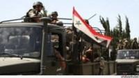 Suriye ordusundan teröristlere ağır darbe