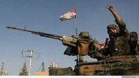 Suriye ordusu ile teröristler Ratyan'da şiddetli bir şekilde çatışıyor