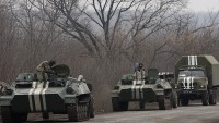 Ukrayna ordusu ağır silahlarını geri çekiyor…