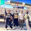 Foto: ''Ebu Azrail'' Kahir Füzesi'yle Tikrit'te