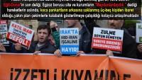 FOTO- Teröristlerin Tek Destekçileri: Pankartların Arkasına saklanmış marjinal üç-beş kişi…
