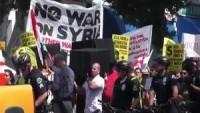 ABD Halkı Savaş Karşıtı Eylem Düzenledi.
