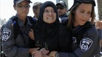 İsrail Polisi, Mescid-i Aksa'dan Çıkan 5 Filistinli Kadını Tutukladı.