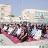 Bahreyn Halkı Yıkılan Camilerde Namaz Kıldılar.