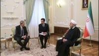 Ruhani: İran ve İtalya İlişkilerin Geliştirilmesini Olumlu Karşılıyor