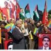 Filistinliler Emperyalizme Karşı Venezuela İle Dayanışma Eylemi Düzenlediler.