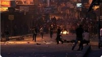 El-Celzun Kampı'ndaki Çatışmalarda Biri Ağır 8 Filistinli Yaralandı.