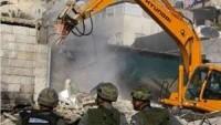 İşgal Güçleri Geçen Ay Filistinlilere Ait 10 Evi Yıktı…