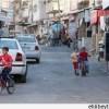 Nablus Valisinin Aracı Belata Mülteci Kampı'nda Taşlandı.