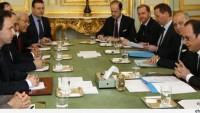 Hollande, Suriyeli Teröristlerle Görüştü…