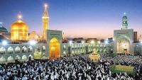 Srilankalı Müslümanlar, İmam Rıza (as)'ın Türbesini Ziyaret Ettiler.