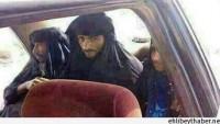 IŞİD'li Teröristler Kadın Kılığında Tikrit'ten Kaçıyor…