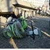 Ukrayna tankı bir bebeği ezdi, kent karıştı.