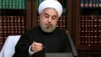 İran cumhurbaşkanı Ruhani, Özbekistan ve Kırgızistan cumhurbaşkanlarına tebrik mesajı gönderdi