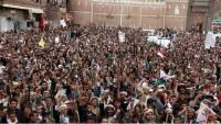 Yemen'de Halk Kitleleri Sokaklara Döküldü.