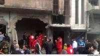 Teröristler Homs Kentinde Bombalı Saldırı Yaptı