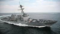 İran Donanmasının Uyarısı Üzerine ABD Savaş Gemisi Bölgeden Kaçtı