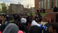 ABD'de Katil Polislere Karşı Eylem Yapıldı