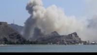 Yemen Hizbulahı, Aden'e işgalci askerlerin inmesinin engellediğini açıkladı.
