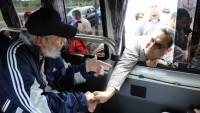Fidel Castro, 14 ayın ardından ilk kez halkın arasında görüntülendi